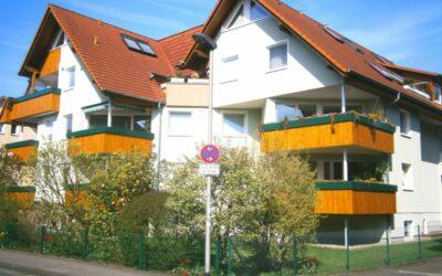 Verkauft: moderne 2-Zimmer-Wohnung am Zentrumsrand